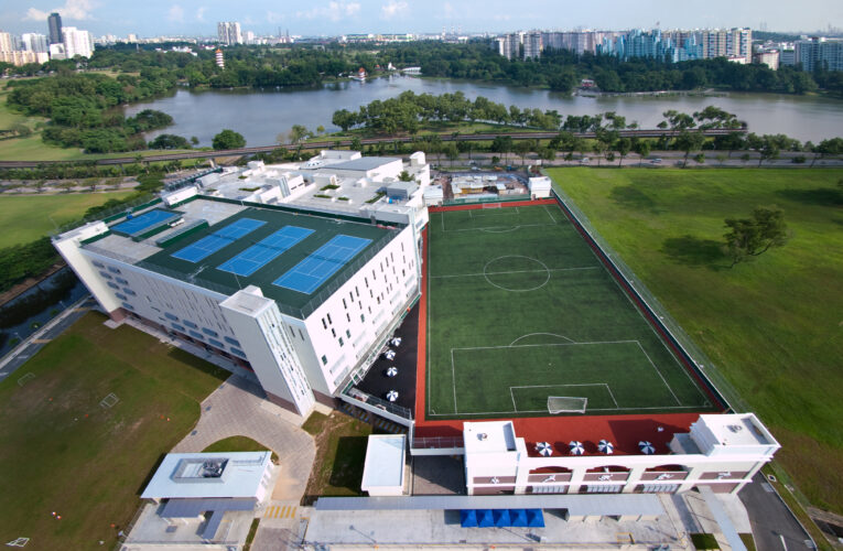 What are some reputed schools for international students in Singapore?