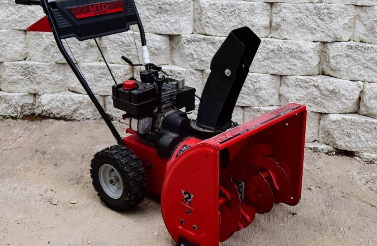 Everything To Know About Snowblower Maintenance